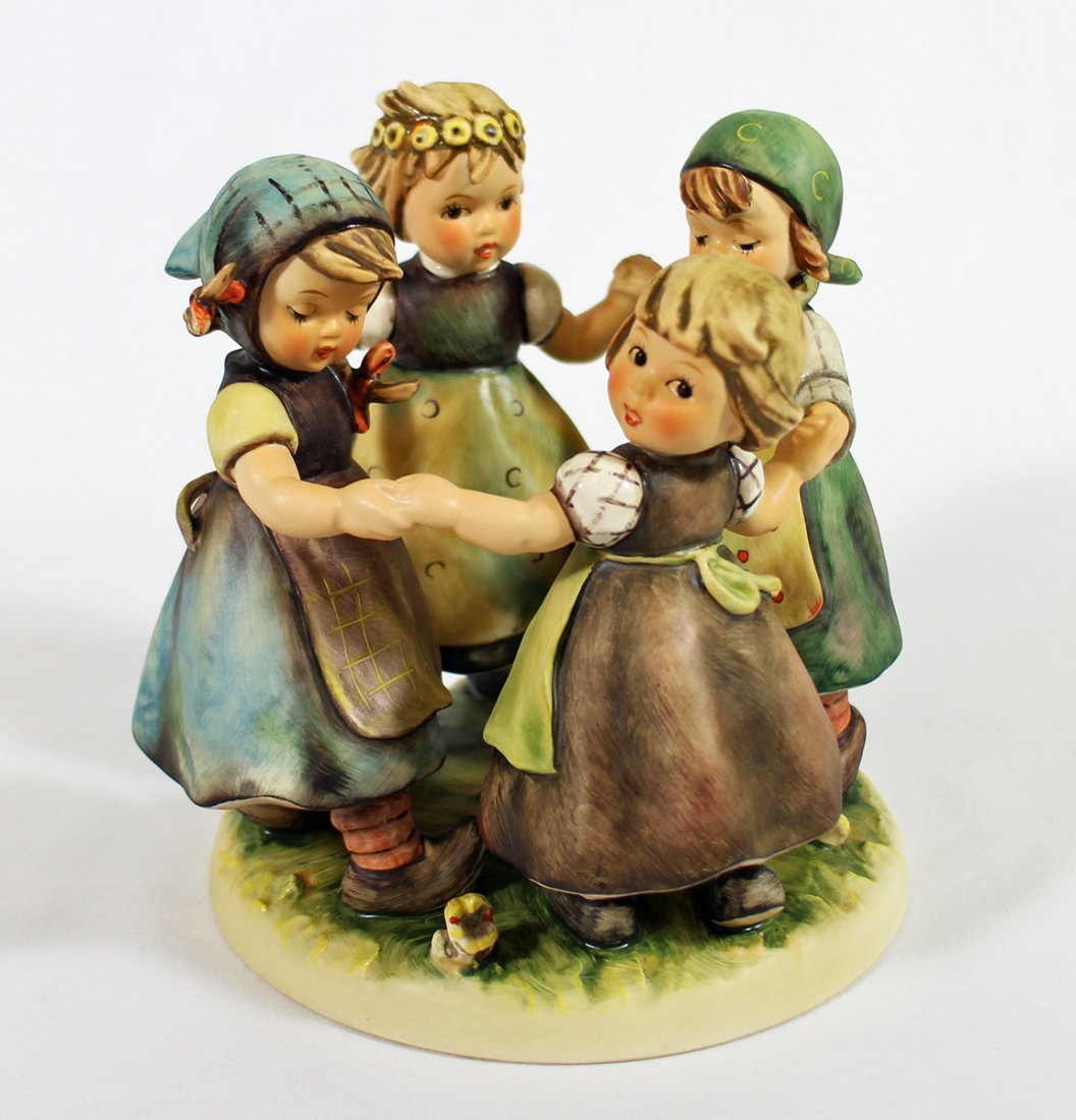 HUMMEL RING AROUND THE ROSIE FIGURINE
