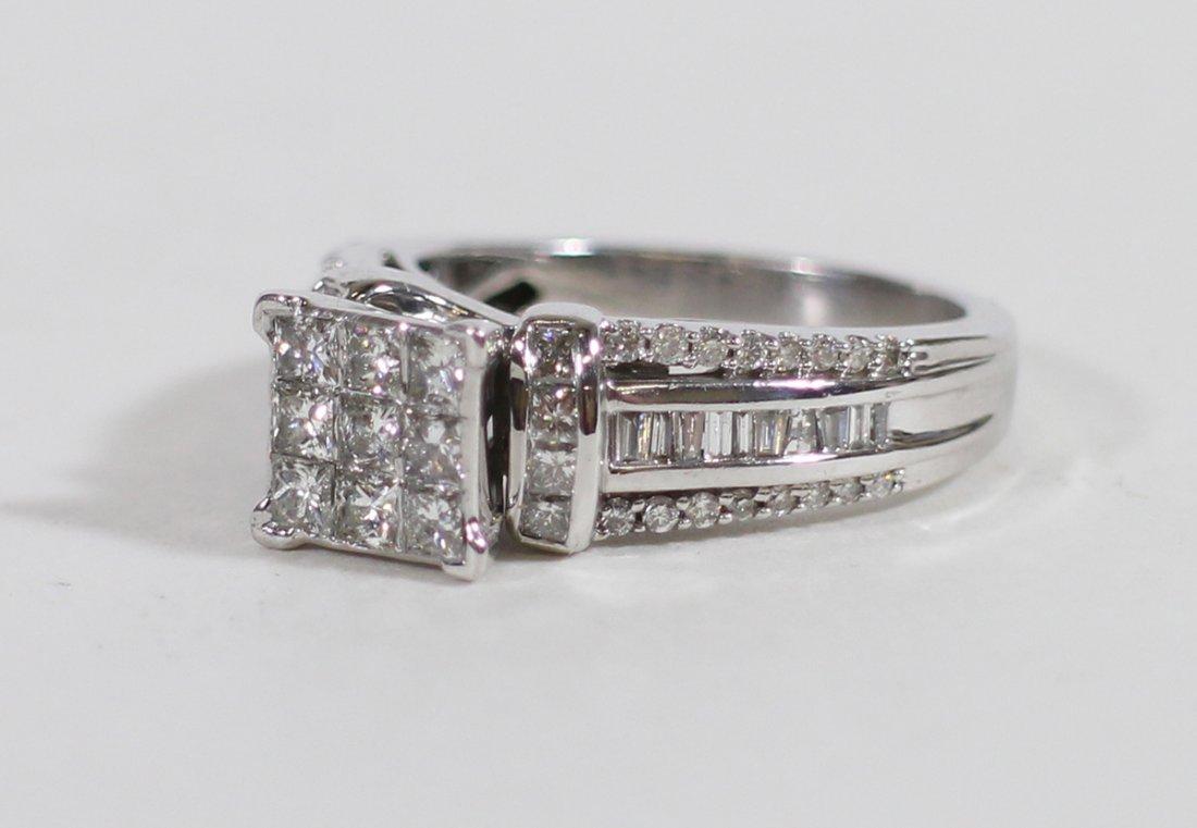 14KT .70 TCW DIAMOND RING