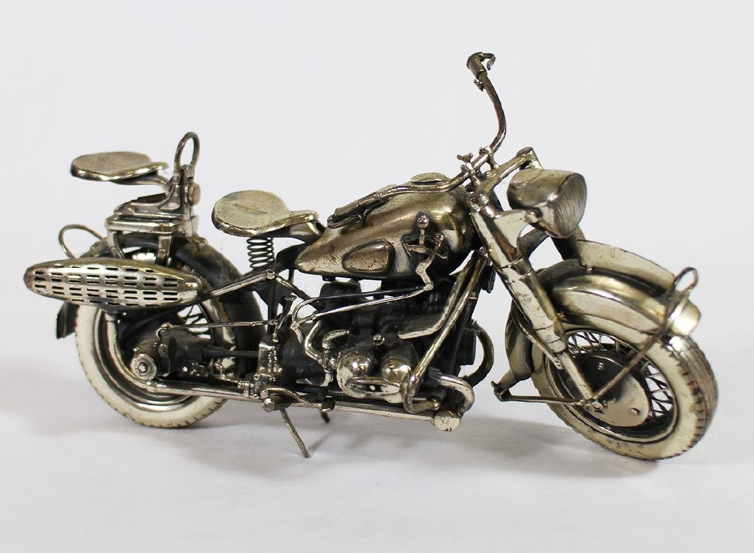 MEDUSA ORO STERLING SILVER MOTORCYCLE