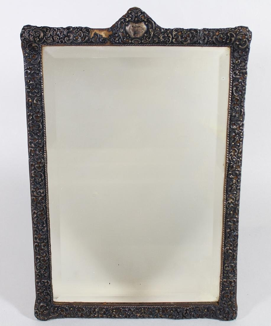 ANTIQUE ENGLISH STERLING MIRROR