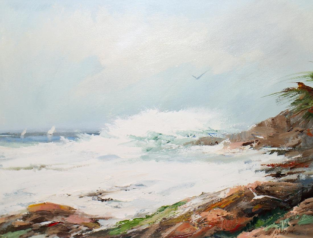 CHARLES GRUPPE SURF PAINTING