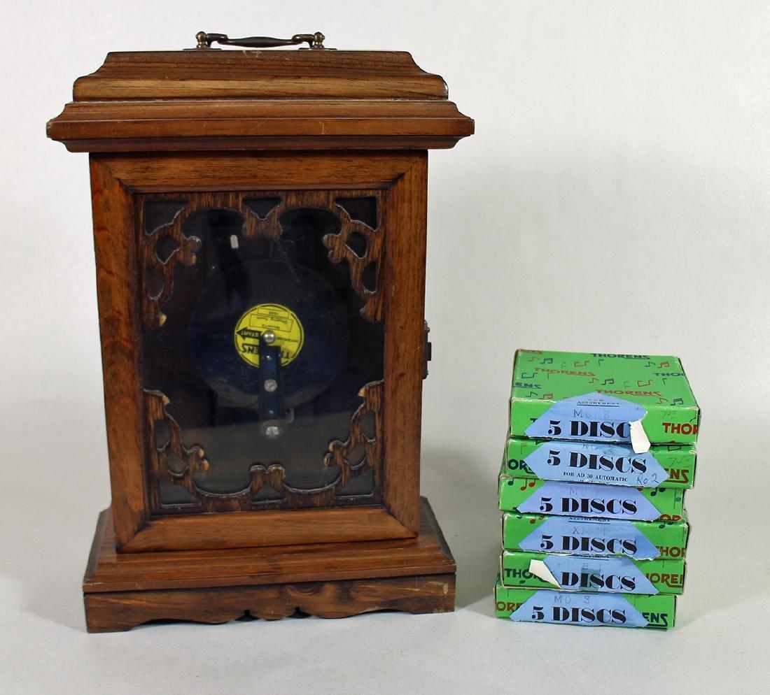 THORENS MUSIC BOX WITH DISCS