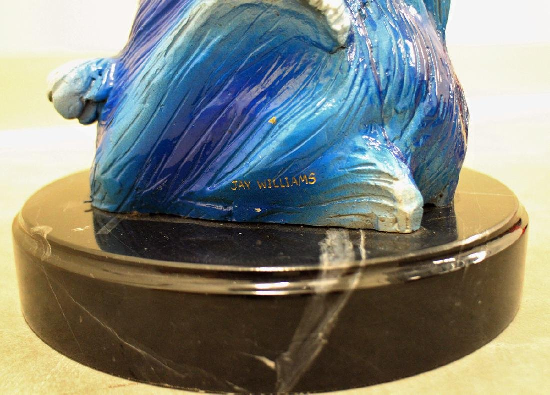 JAY WILLIAMS TURTLE SCULPTURE - 3
