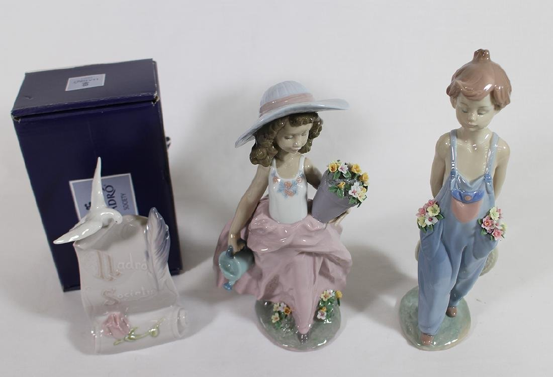 (3) LLADRO FIGURINES - 2