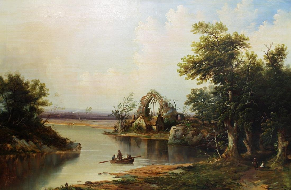 LANDSCAPE PAINTING BY JAMES MCINTYRE