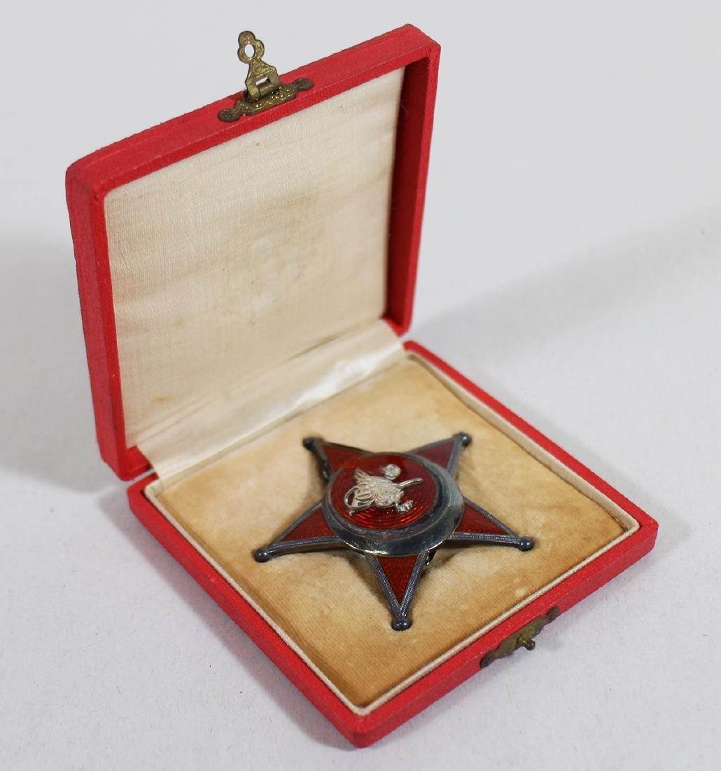 WWI OTTOMAN GALLIPOLI STAR MEDAL W/ BOX
