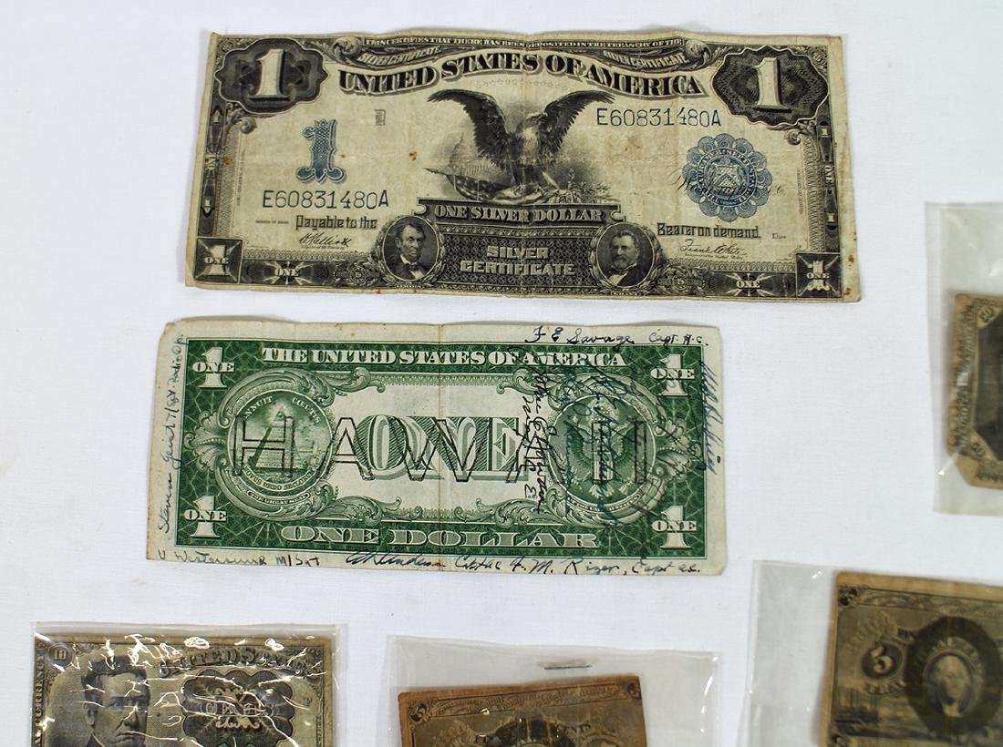 FRACTIONAL CURRENCY & LARGE US NOTES - 3