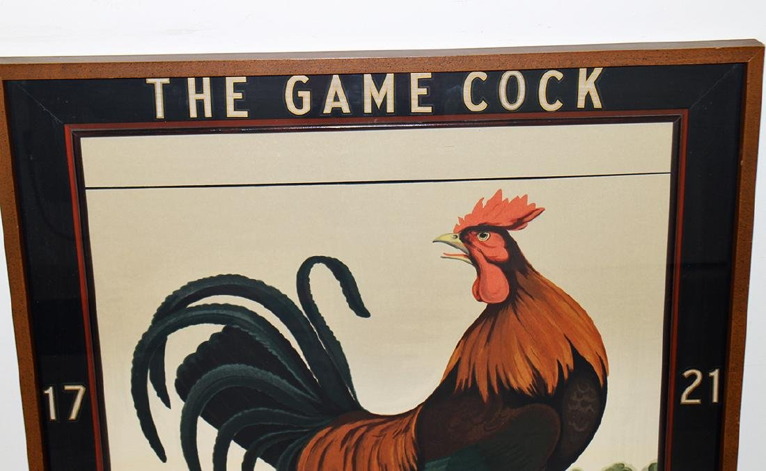 THE GAME COCK INN 1721 SIGN - 2