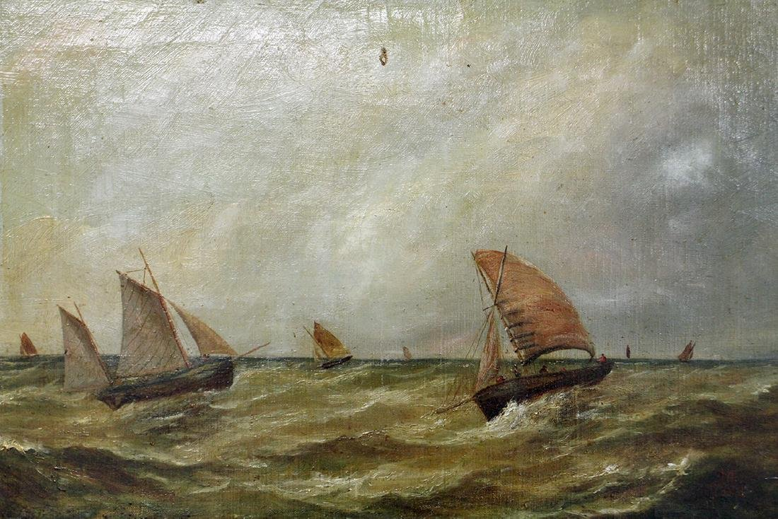1882 SAILBOAT PAINTING - 2