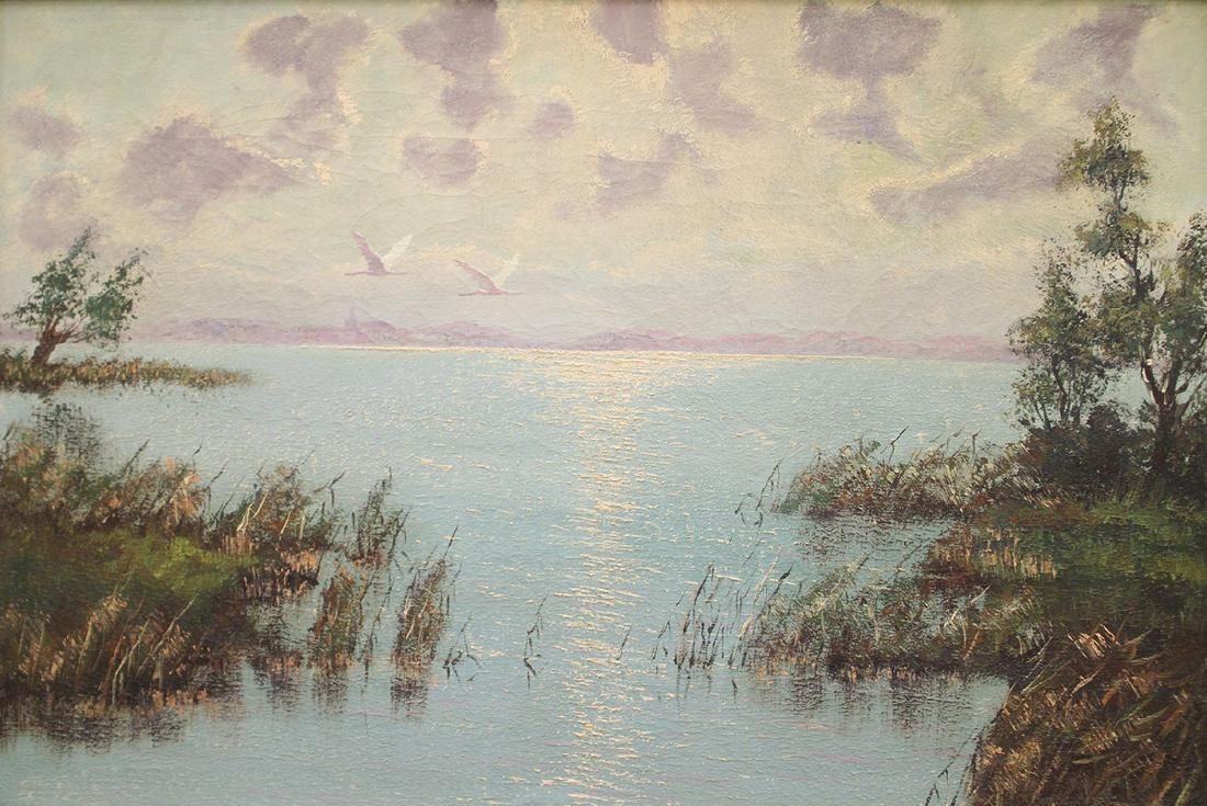 MORNING INLET PAINTING