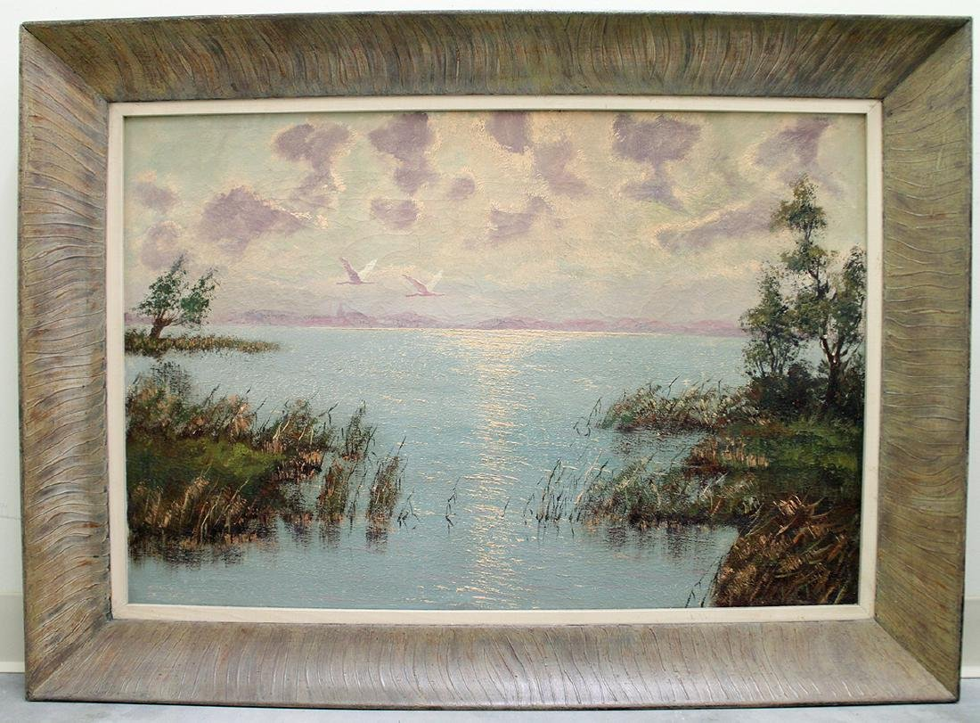 MORNING INLET PAINTING - 3