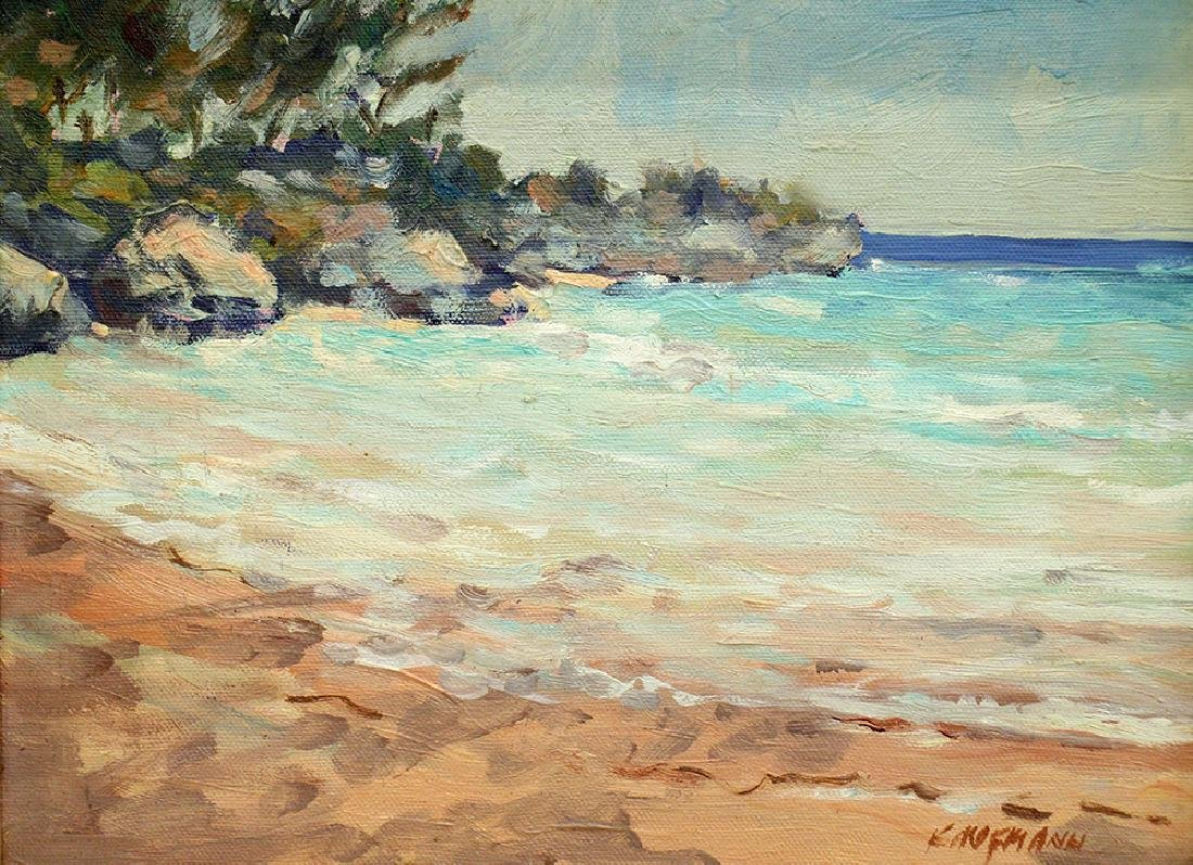 KAUFMANN BEACH PAINTING