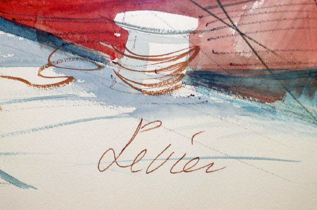 CHARLES LEVIER FRENCH COAST PAINTING - 2