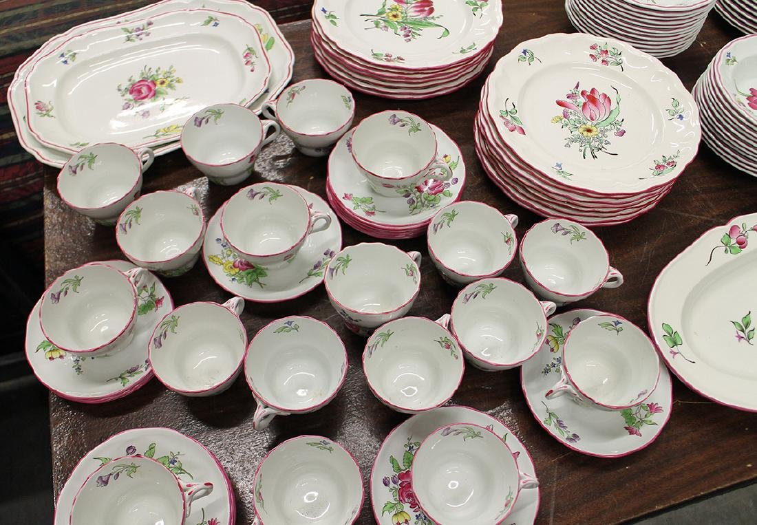 109 PIECE SET OF LUNEVILLE FAIENCE CHINA - 2