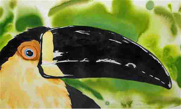 TIMOTHY BAILEY TOUCAN PAINTING