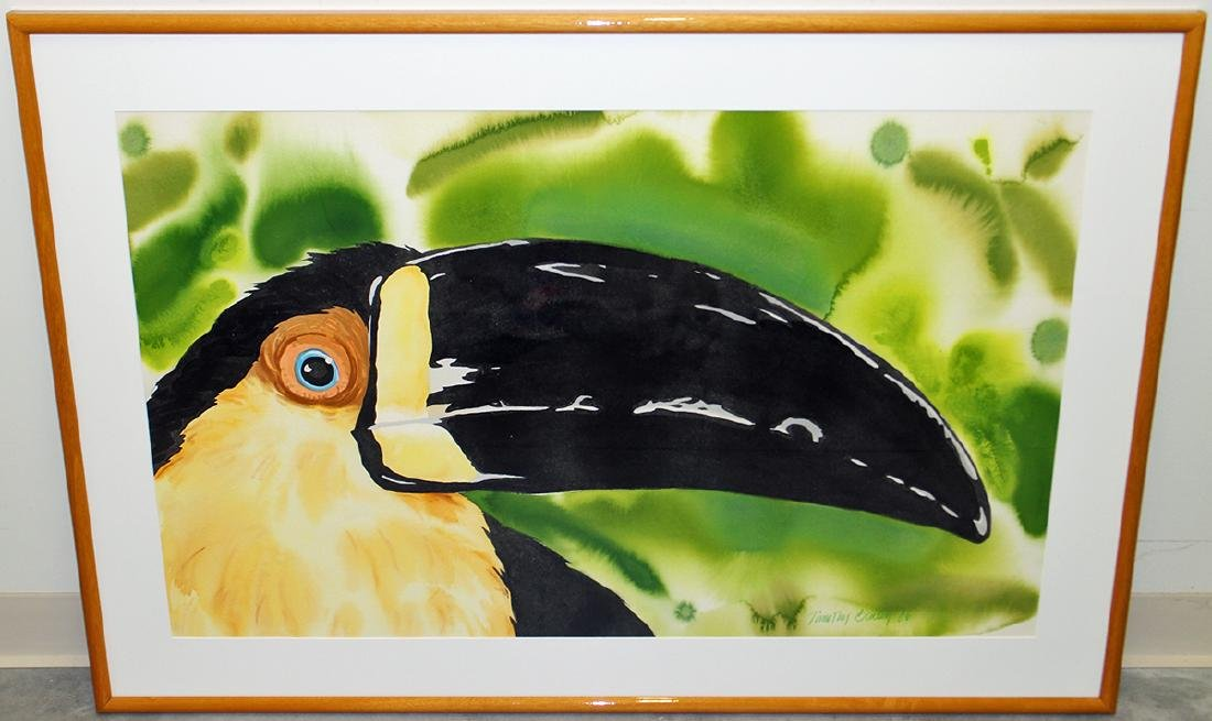 TIMOTHY BAILEY TOUCAN PAINTING - 2
