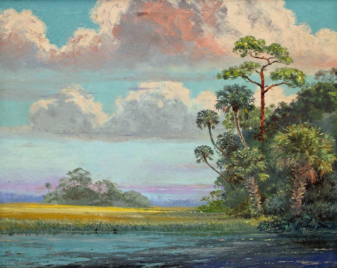 GEOFFREY BATE FLORIDA PAINTING