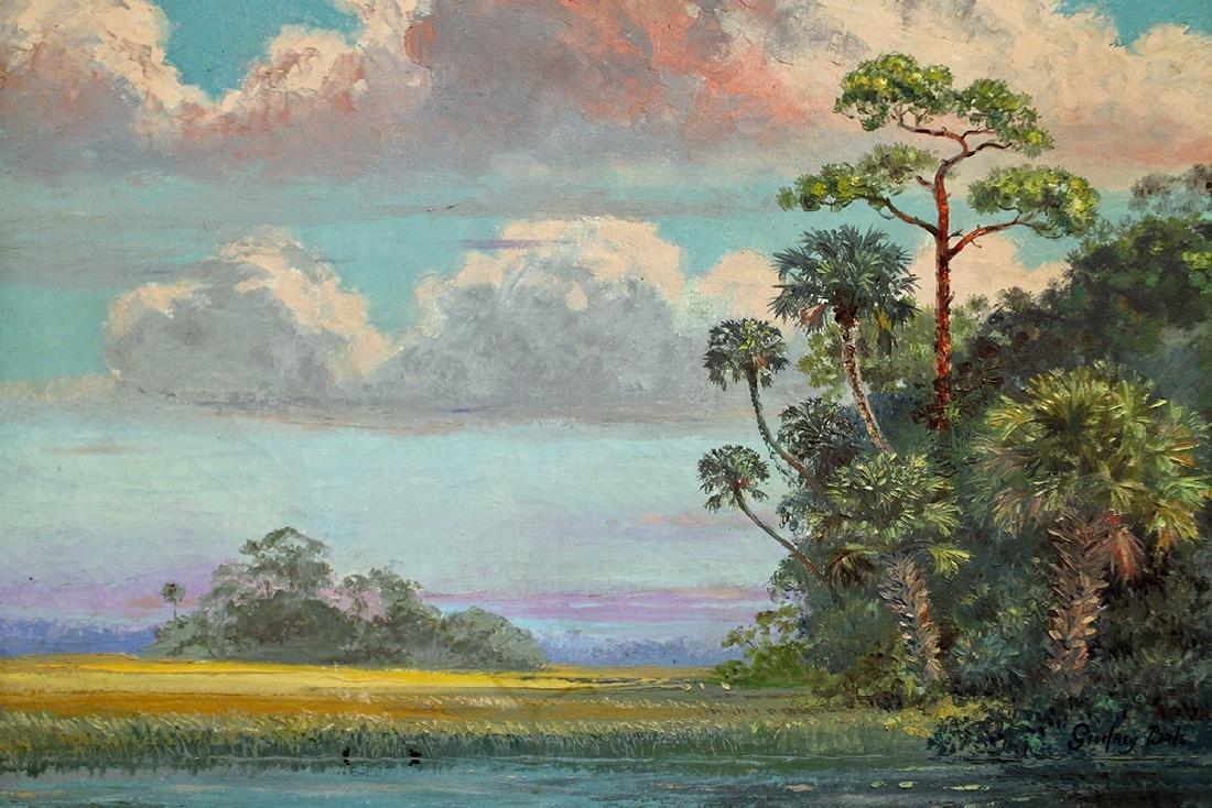 GEOFFREY BATE FLORIDA PAINTING - 2