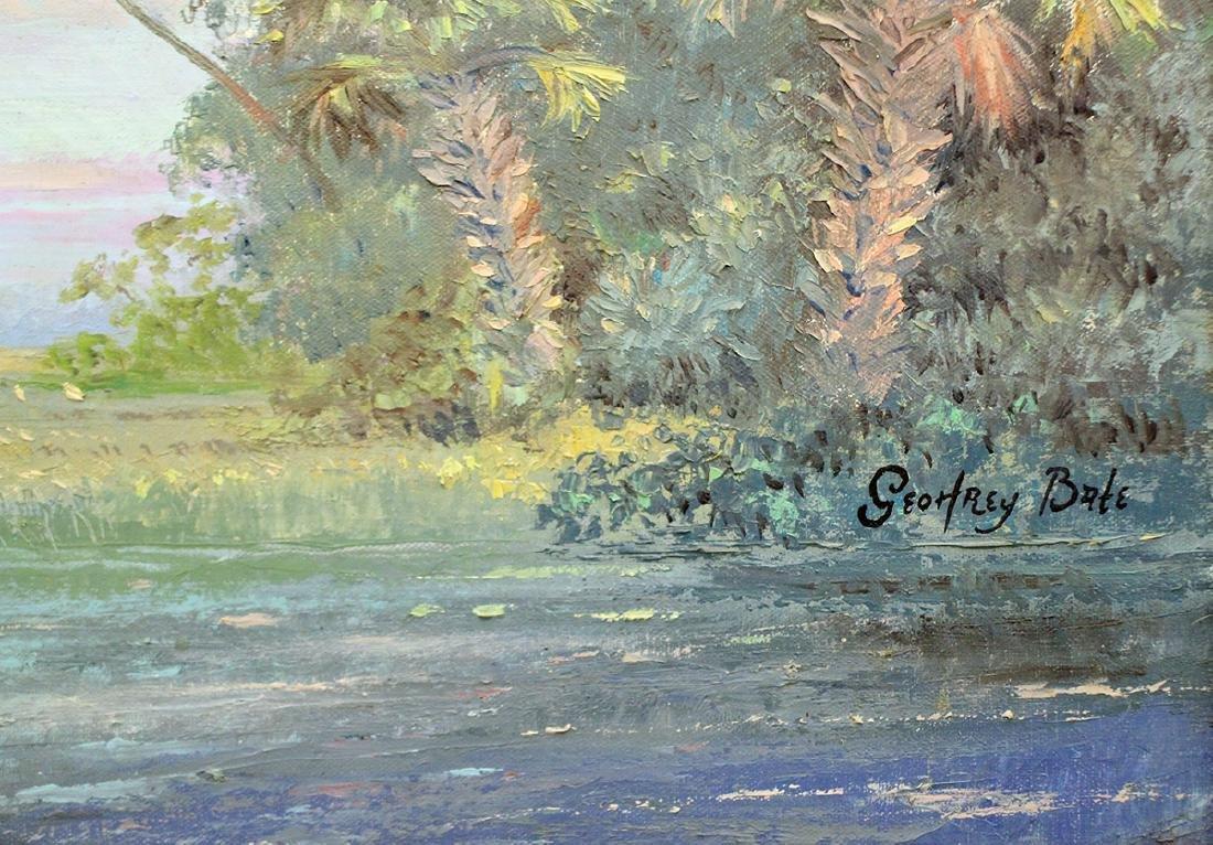 GEOFFREY BATE FLORIDA PAINTING - 3