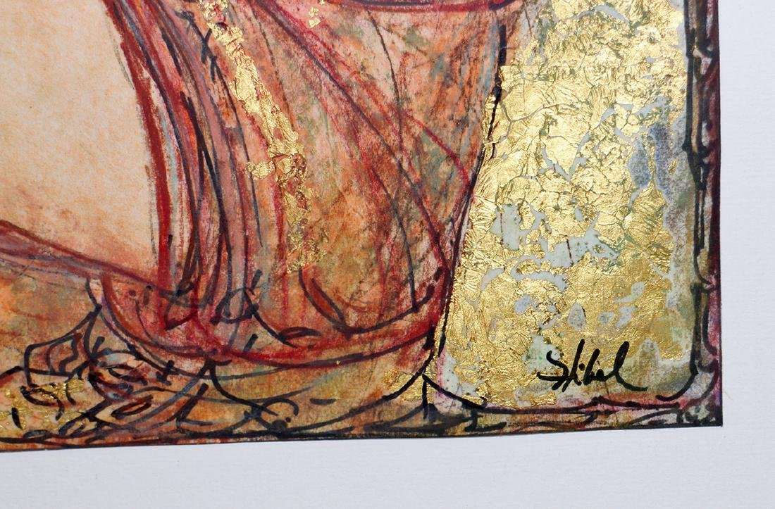 EDNA HIBEL MIXED MEDIA - 3
