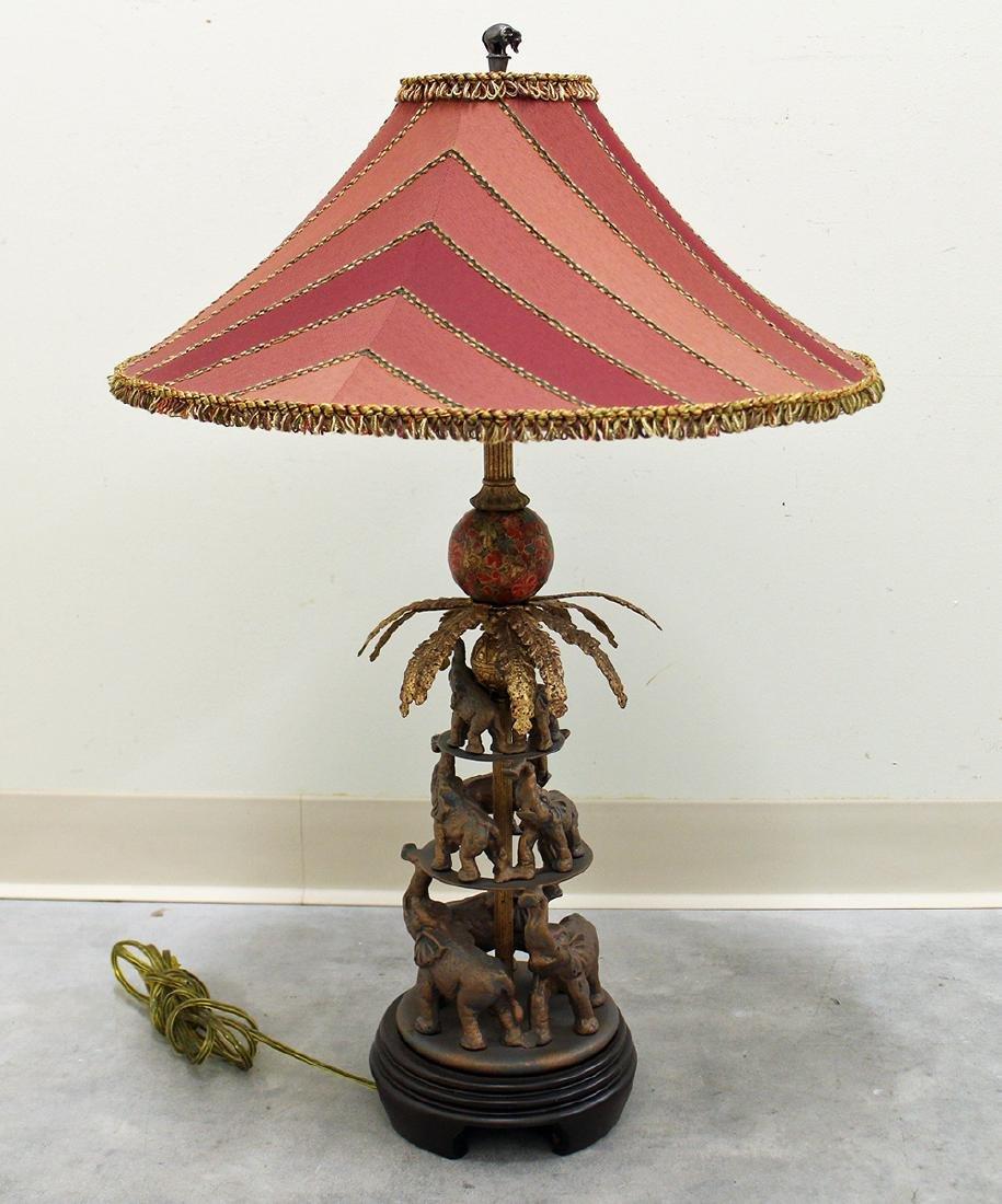 FREDERICK COOPER RAYMOND WAITES ELEPHANT LAMP