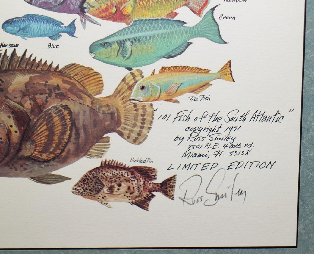 RUSS SMILEY 101 FISH OF THE SOUTH ATLANTIC ART - 3