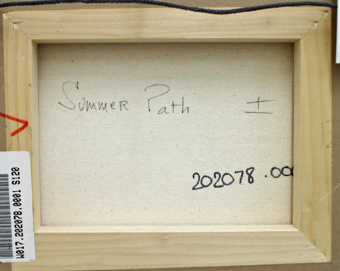 NATALIE LEVINE SUMMER PATH PAINTING - 4