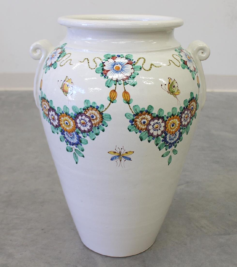 LARGE POTTERY URN