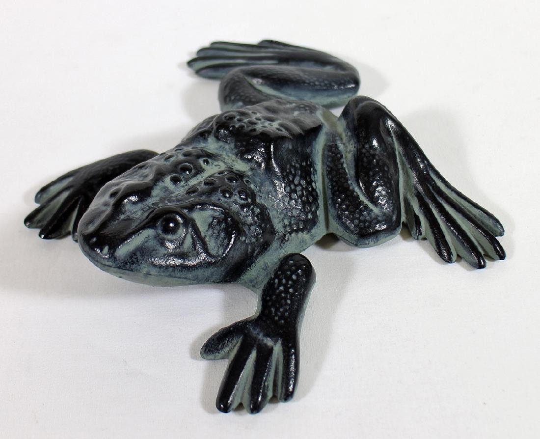 CAST IRON FROG DOORSTOP