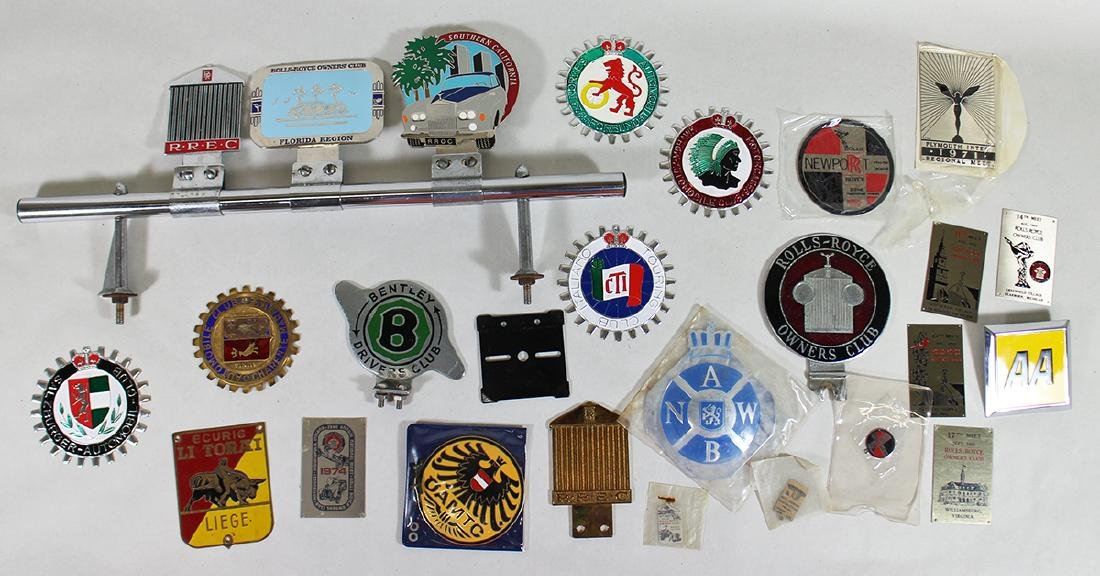 CAR BADGE COLLECTION & MORE