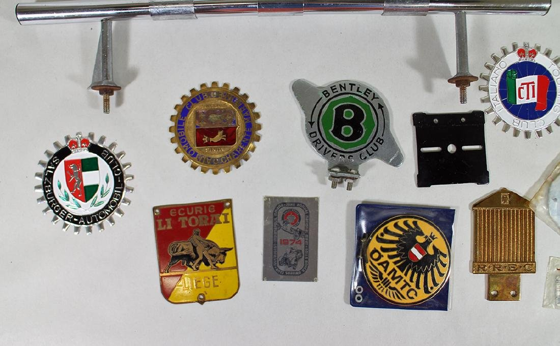 CAR BADGE COLLECTION & MORE - 2