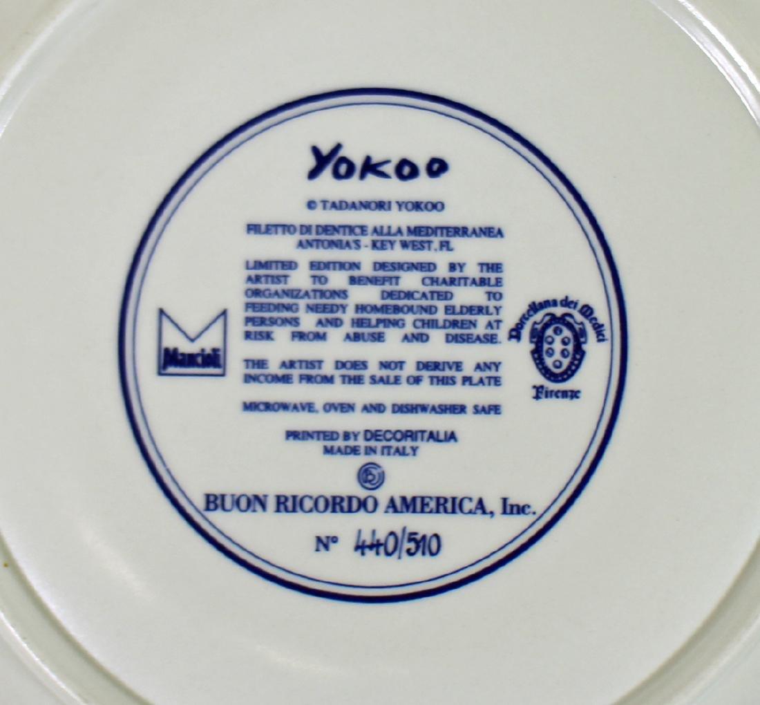 (2) BUON RICORDO AMERICA KEY WEST PLATES - 2