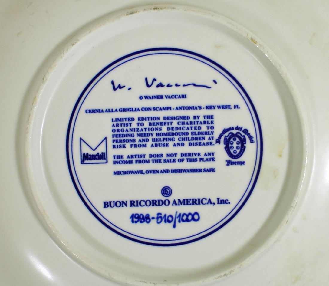 (2) BUON RICORDO AMERICA KEY WEST PLATES - 3