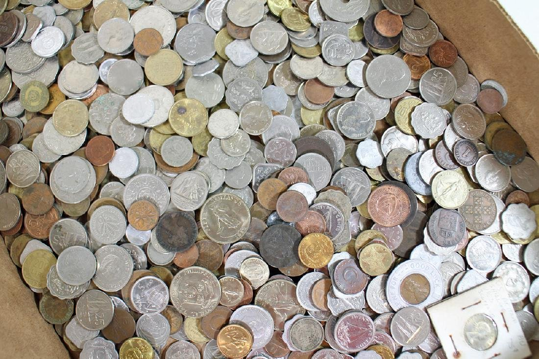 FOREIGN COINS & PAPER CURRENCY - 2