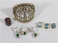 STERLING  COSTUME JEWELRY COLLECTION