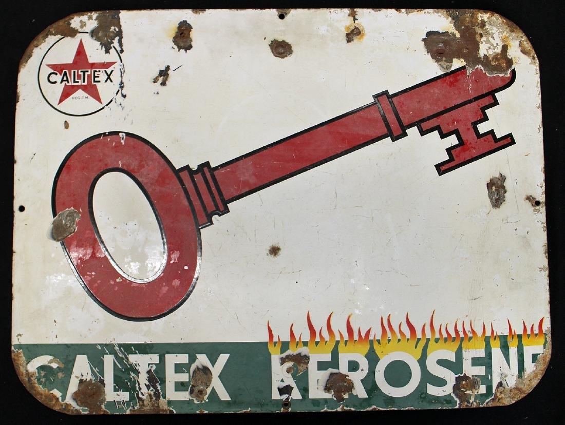 CALTEX KEROSENE SIGN