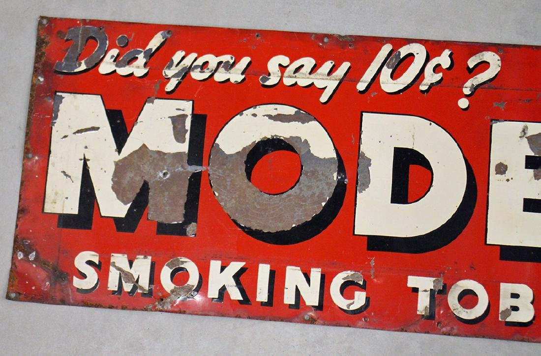 ANTIQUE MODEL TOBACCO SIGN - 2