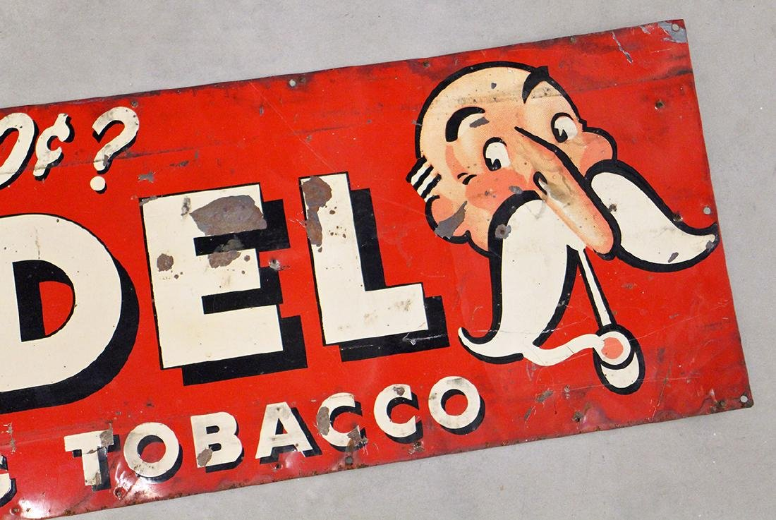 ANTIQUE MODEL TOBACCO SIGN - 3