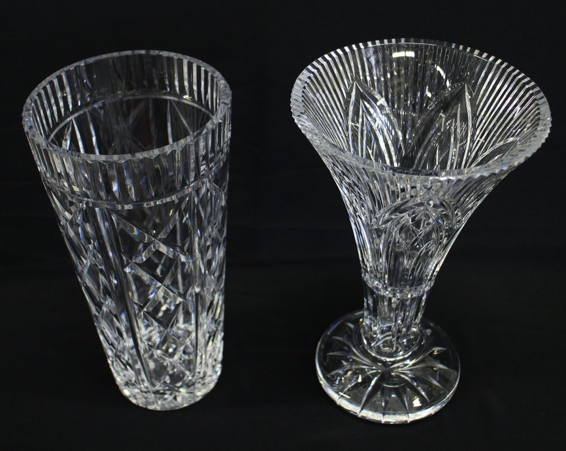 (2) WATERFORD CRYSTAL VASES - 2