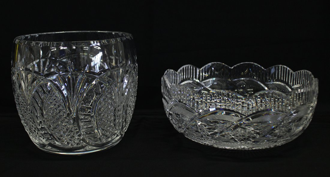 (2) WATERFORD CRYSTAL BOWLS