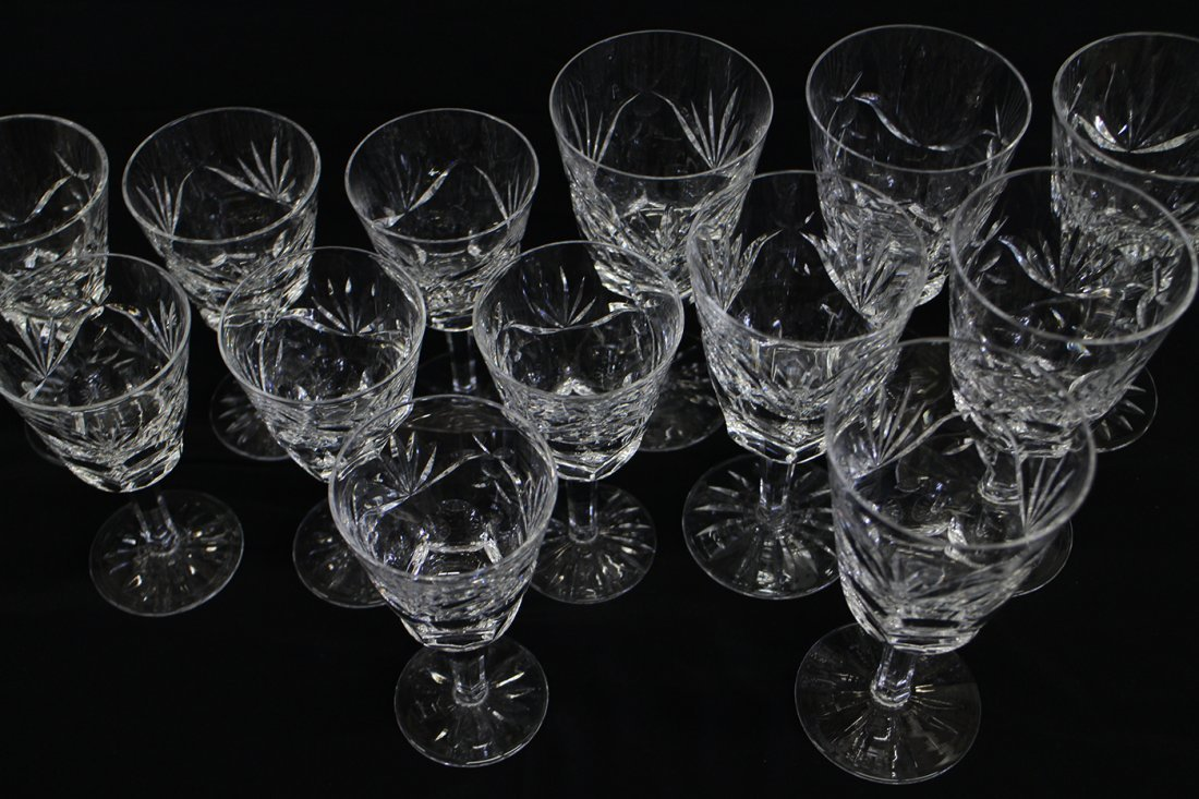 (13) WATERFORD CRYSTAL ASHLING GLASSES - 2