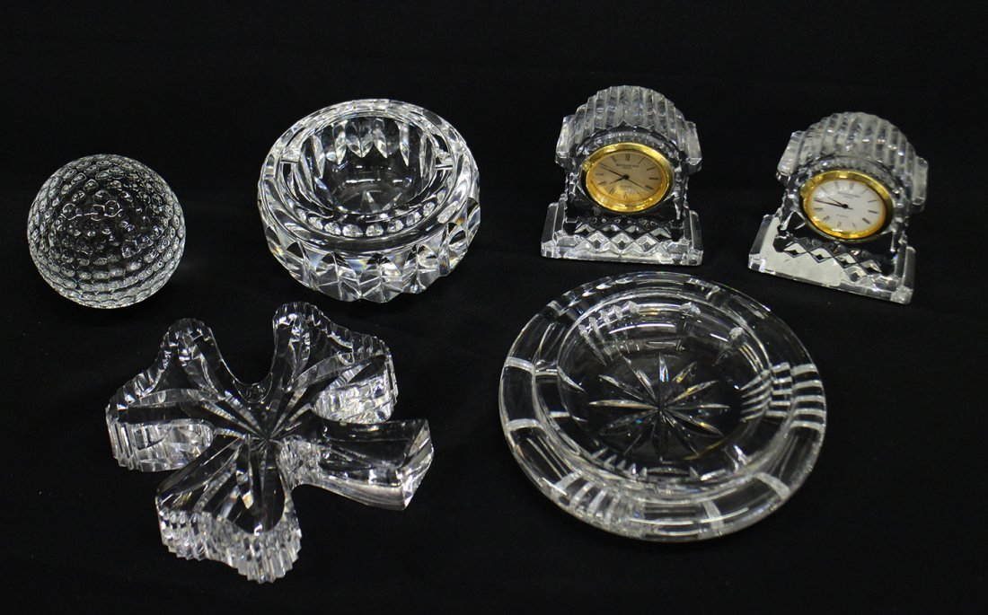6 PC WATERFORD CRYSTAL COLLECTION