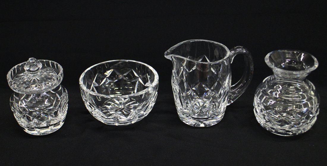 4 PC WATERFORD CRYSTAL COLLECTION