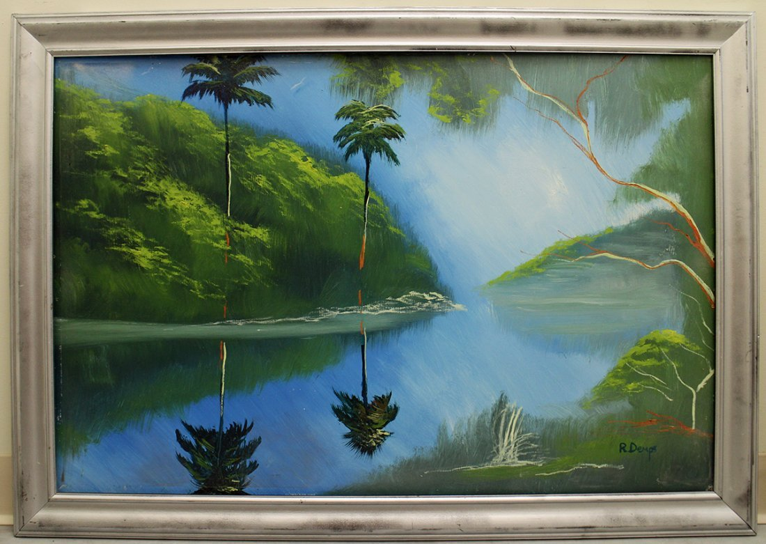 RODNEY DEMPS HIGHWAYMEN PAINTING - 2