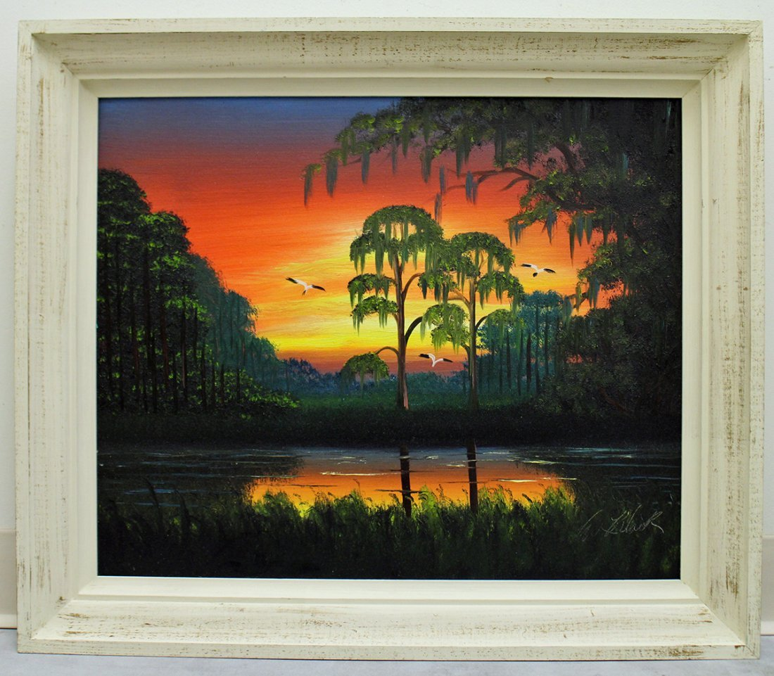 AL BLACK HIGHWAYMEN PAINTING