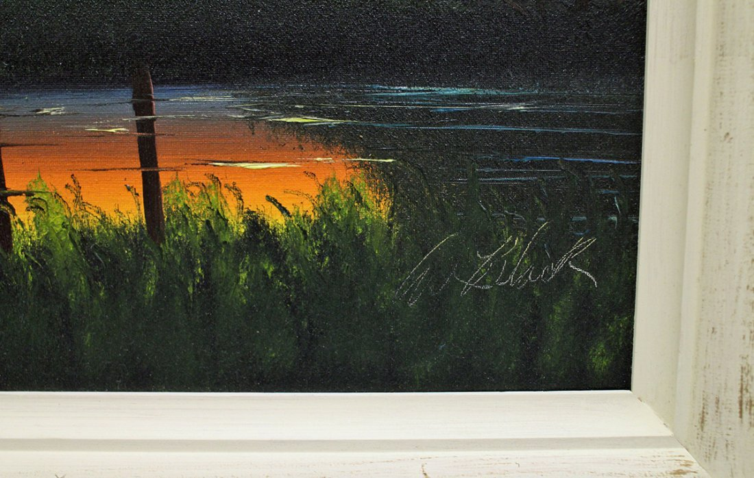 AL BLACK HIGHWAYMEN PAINTING - 3