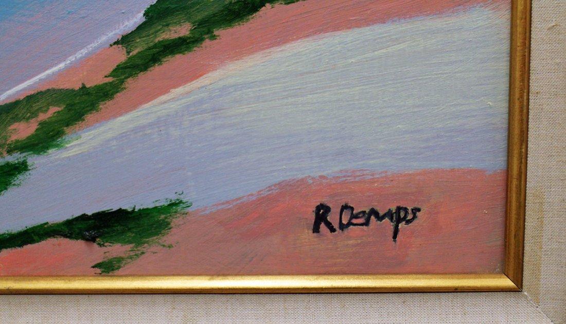 RODNEY DEMPS HIGHWAYMEN PAINTING - 3