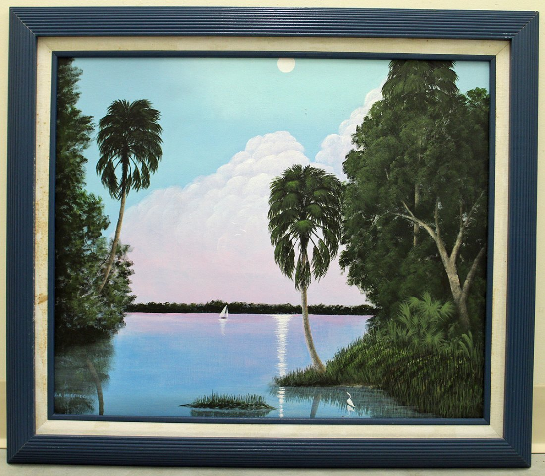 ROY MCLENDON JR. PAINTING - 2