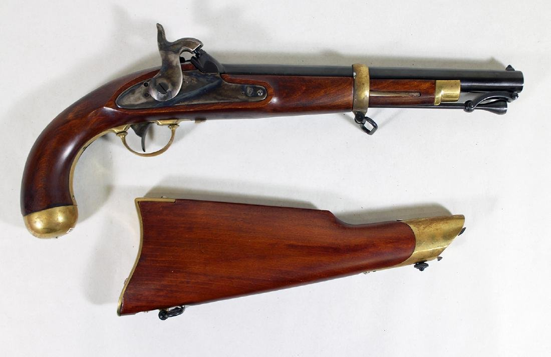 PALMETTO PERCUSSION 1855 US DRAGOON PISTOL - 3
