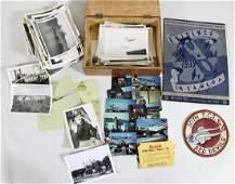 WWII PHOTOGRAPHS & EPHEMERA